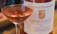 Gigondas is mostly red wine, there are a smaller number of whites and rosés