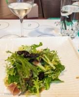 Leslie and the Foreign Legion chef had chosen a bright asparagus salad with the Creta de Menade. Both were so fresh, light and crisp.