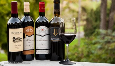 A variety of Merlot wines