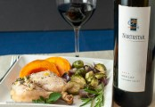 Northstar Merlot with roast chicken