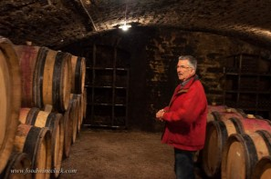 Raymond Boillot, the current winegrower in a 300 year family tradition.