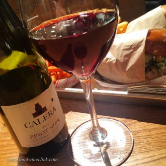 Gott's roadside has Calera Pinot Noir by the 1/2 bottle. My kind of burger joint!