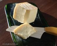 Taleggio washed rind cheese adds a rich, earthy element.