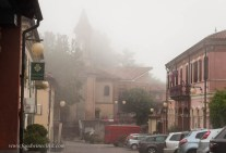 Sometimes the Nebbia persists into the late morning
