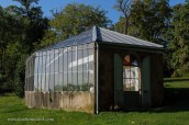 greenhouse at Chateau Buffavent