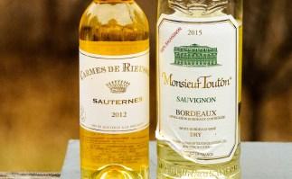 White Bordeaux and Sauternes wines