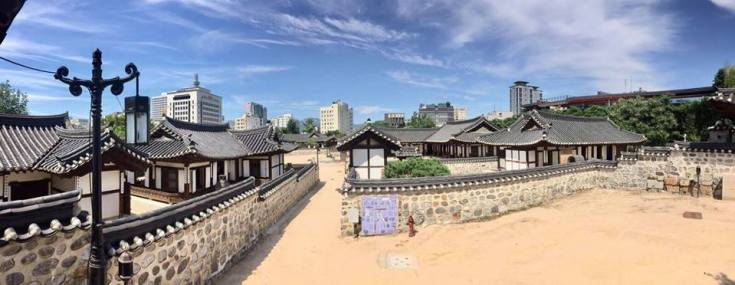 Namsangol Hanok Village overview