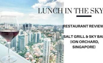 Review salt grill and sky bar ion orchard lunch