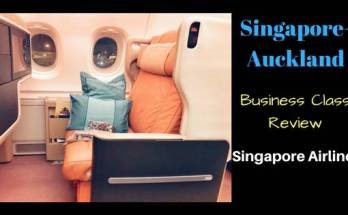 SQ285 SIN-AKL Business Class