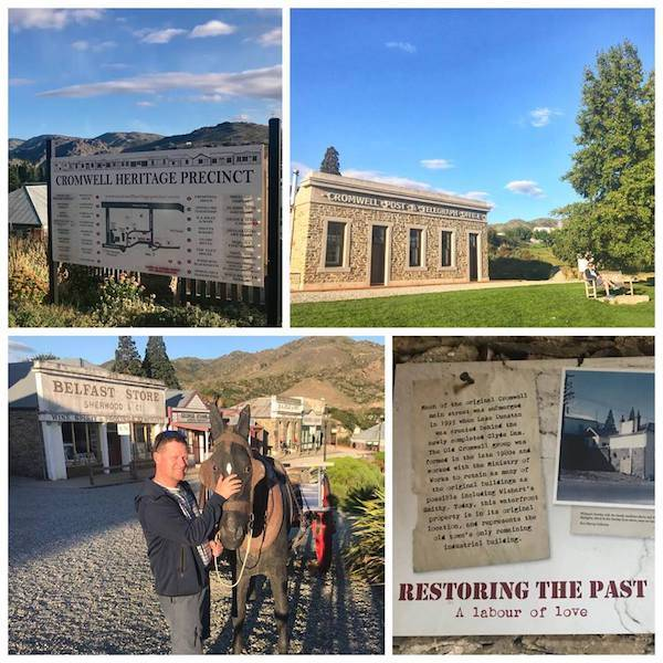 Cromwell Heritage Precinct Restored Town