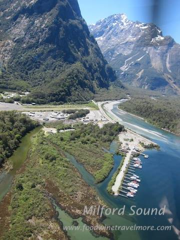 flying back from Milford sound to Queenstown airport via Helicopter