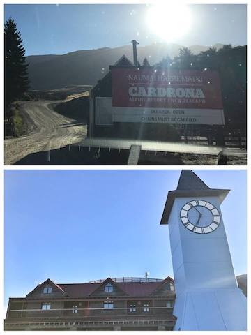 Cardrona Ski Field Drive up in summer