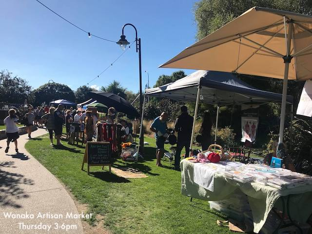 Wanaka Artisan Market Thursday afternoon