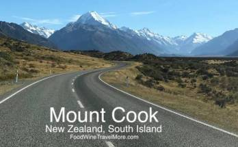 Mount Cook New Zealand South Island Blog
