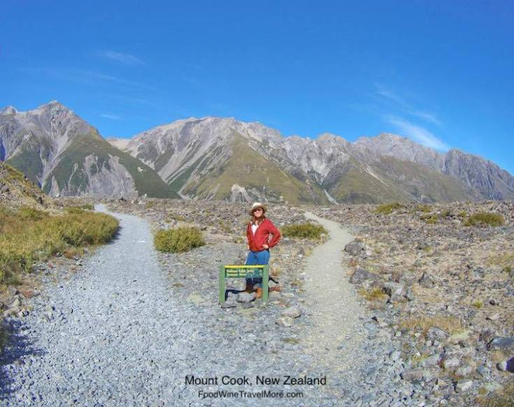Mt Cook, NZ, TAsman Glacier Walk, Crossing