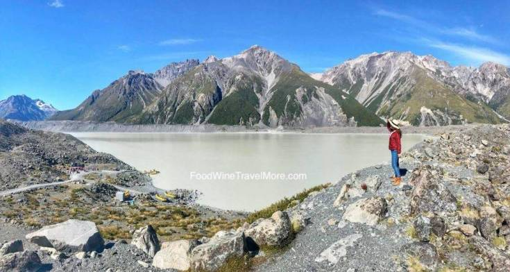 Tasman Glacier Walk Mount Cook Blog FoodWineTravelMore