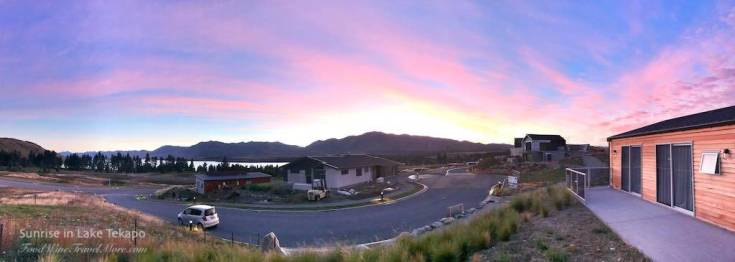 Airbnb Lake tekapo sunrise