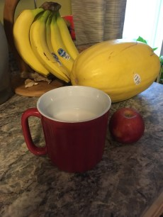 Mug 3/4th Full