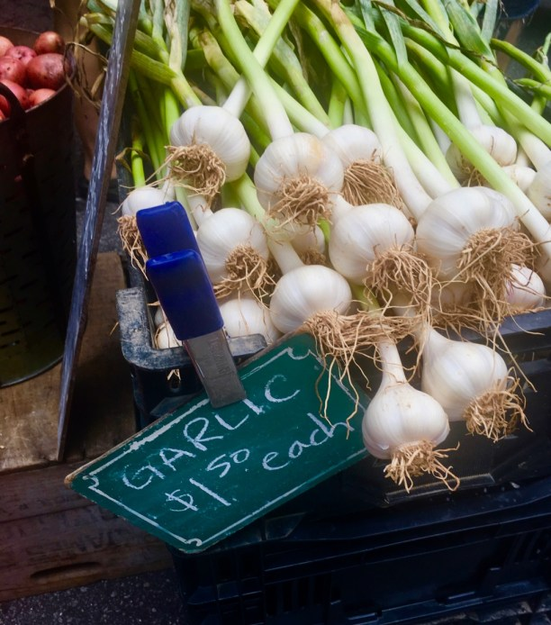 Garlic bulbs for sale | new jersey farmers markets | foodwithaview.com