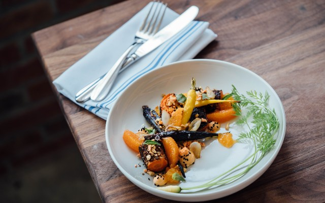 Roasted vegetables for beer pairing | photo by adam jaime | beer and food, food and beer | foodwithaview.com