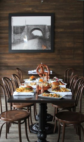 Table for Six | The Hills Tavern in Millburn NJ | foodwithaview.com