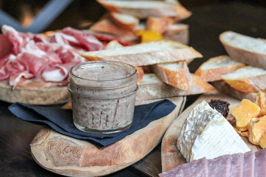 Rillettes charcuterie and cheese platter | Satis Bistro Bloomfield NJ | Best NJ Brunch Restaurants on foodwithaview.com