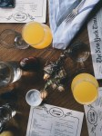 Eating brunch and reading the paper | Best brunch restaurants in northern NJ | foodwithaview.com