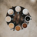 rainbow of coffee | support black-owned restaurants in NJ and NYC | foodwithaview.com