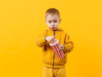 child drinking soda and behavioural problems