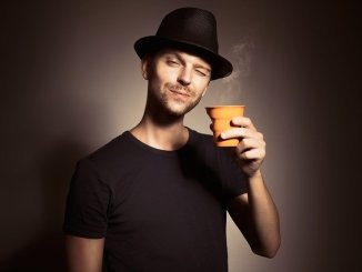 Drinking coffee. Prostate cancer