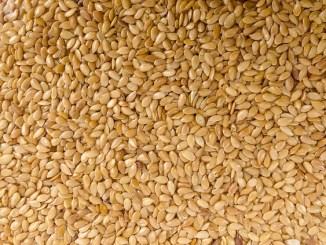 Full screen shot of sesame seeds