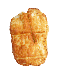 Slice of grilled halloumi cheese.