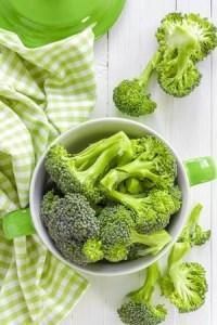 Broccoli prepared for cooking. Copyright: yelenayemchuk / 123RF Stock Photo