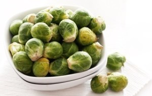 Cooked Brussel sprouts. Copyright: yeko / 123RF Stock Photo