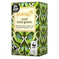Pukka: A box of cool mint green tea.