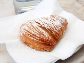 Sfogliatella, typical italian cake from Naples.