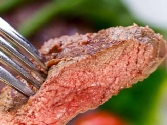 10644207 - new york strip steak with vegetables