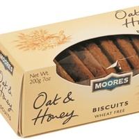 Moores Oat & Honey Biscuits