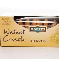 Moores Walnut Crunch Biscuits