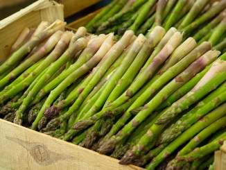 Asparagus spears in a box Effect on breast cancer cells.