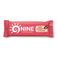 9 Bar Carob, Raspberry & Chia Seed