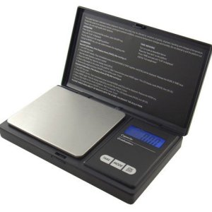 American Weigh Signature Series Black AWS-100 Digital Pocket Scale, 100 by 0.01 G