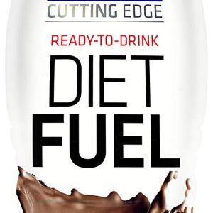 USN Ultralean Diet Fuel Shake, Chocolate - Pack of 8 x 330 ml
