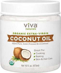 Viva Naturals Organic Extra Virgin Coconut Oil, 16 Ounce