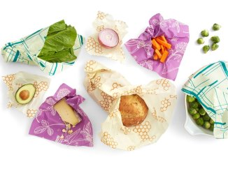 Resealable food packaging. Variety of foods