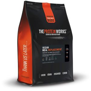 The Protein Works Vegan Meal Replacement, Chocolate Silk, 1 kg