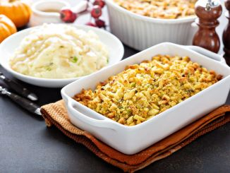 Stuffing. How to make stuffing for Thanksgiving.