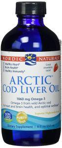 Nordic Naturals Arctic Cod Liver Oil, Great Strawberry Taste, 237ml