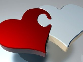 Heart puzzle. Symbol for atherosclerosis in the community.
