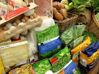 Food supplies. fresh produce held up by Coronavirus